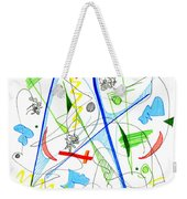 Abstract Pen Drawing Fifty-three Weekender Tote Bag
