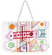 Abstract Pen Drawing Fifty-two Weekender Tote Bag