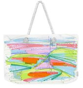 Abstract Pen Drawing Forty-three Weekender Tote Bag