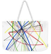 Abstract Pen Drawing Seventy-five Weekender Tote Bag