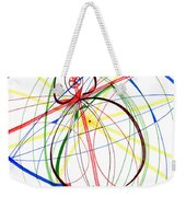 Abstract Pen Drawing Seventy-four Weekender Tote Bag