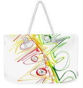 Abstract Pen Drawing Seventy-one Weekender Tote Bag