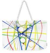 Abstract Pen Drawing Seventy-three Weekender Tote Bag