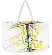Abstract Pen Drawing Seventy-two Weekender Tote Bag