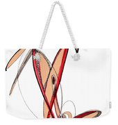 Abstract Pen Drawing Sixty-five Weekender Tote Bag