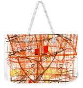 Abstract Pen Drawing Sixty-one Weekender Tote Bag