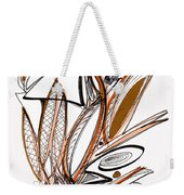 Abstract Pen Drawing Sixty-six Weekender Tote Bag
