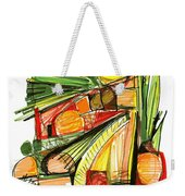Abstract Pen Drawing Sixty-two Weekender Tote Bag