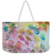 Abstract Petals Weekender Tote Bag