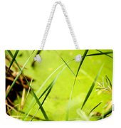 Abstract Pond Scum Weekender Tote Bag