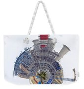 Abstract Construction Power Plant Weekender Tote Bag