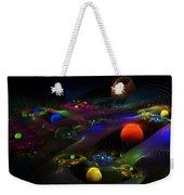 Abstract Psychedelic Fractal Art Weekender Tote Bag