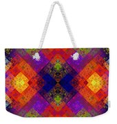 Abstract - Rainbow Connection - Panel - Panorama - Horizontal Weekender Tote Bag