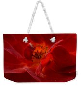 Abstract Red Rose 1a Weekender Tote Bag