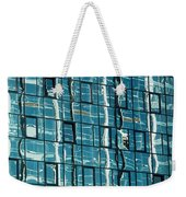 Abstract Reflections In Windows Weekender Tote Bag