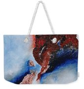 Abstract Rendezvous Weekender Tote Bag