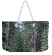 Abstract Road In The Wilderness Weekender Tote Bag
