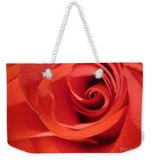 Abstract Orange Rose 9 Weekender Tote Bag