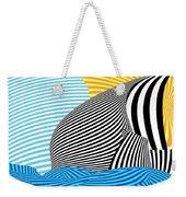 Abstract - Sailing Weekender Tote Bag