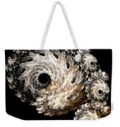 Abstract Seashell Weekender Tote Bag