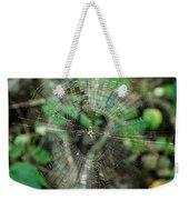 Abstract Spider Web Weekender Tote Bag