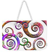 Abstract - Spirals - Planet X Weekender Tote Bag