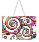 Abstract - Spirals - Wonderland Weekender Tote Bag