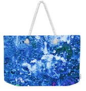 Abstract Splashing Water Weekender Tote Bag