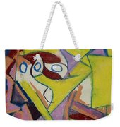 Abstract Study 1985 Weekender Tote Bag