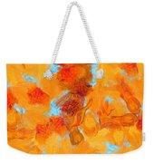 Abstract Summer Weekender Tote Bag