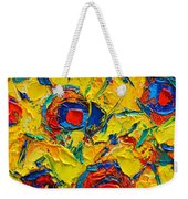 Abstract Sunflowers Weekender Tote Bag