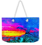 Abstract Sunset As A Painting Weekender Tote Bag