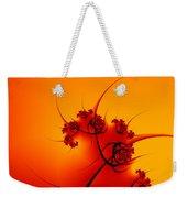 Abstract Sunset Fractal Weekender Tote Bag