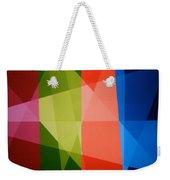 Abstract Transparency Weekender Tote Bag