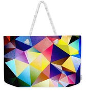 Abstract Triangles And Texture Weekender Tote Bag