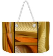 Abstract Triptych - Omaha Library Building Weekender Tote Bag