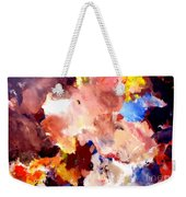 Abstract Two Weekender Tote Bag