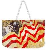 Abstract Usa Flag Weekender Tote Bag