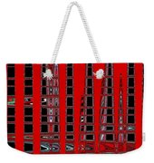 Abstract V Weekender Tote Bag
