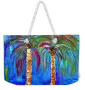 Abstract Venice Palms Weekender Tote Bag