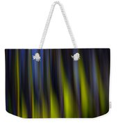 Abstract Vertical Red Yellow Blue And Green Weekender Tote Bag