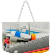 Abstract View Of Airshow During A Rain Storm Weekender Tote Bag