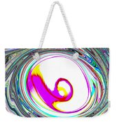 Abstract Vortex Weekender Tote Bag