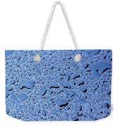 Abstract Water Drops Weekender Tote Bag