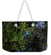Abstract Water Reflection Weekender Tote Bag