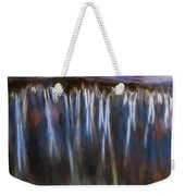 Abstract Waterfalls Childs National Park Painted  Weekender Tote Bag
