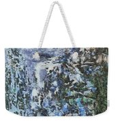 Abstract Winter Landscape Weekender Tote Bag