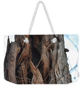 Abstract Winter Tree Weekender Tote Bag