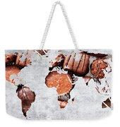 Abstract World Map - Chocolates - Confections - Candy Shop Weekender Tote Bag