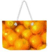 Abstracted Oranges Weekender Tote Bag
